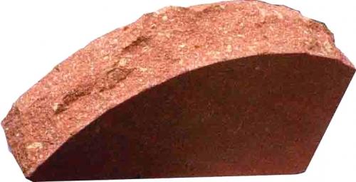 Керамический Кирпич лицевой ЛИТОС красный стандартный полнотелый