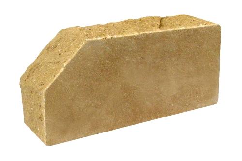 Керамический Кирпич лицевой ЛИТОС слоновая кость стандартный полнотелый