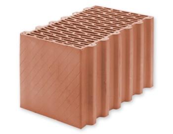 """Керамічні блоки ТМ""""LEIER"""" від Польского виробника Leier. Стіновий блок TH 38 P W (380х238х250)"""