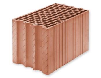 """Керамічні блоки ТМ""""LEIER"""" від Польского виробника Leier. Стіновий блок TH 25 P W (250х238х375)"""