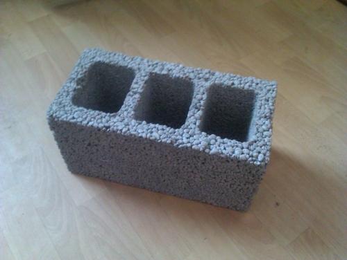 Керамзитобетонные блоки 390х190х190.