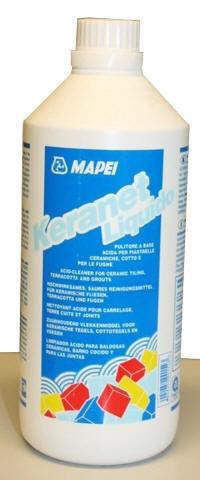KERANET смывка высолов на кирпичной кладке и других фасадных материалах. Пластиковая ёмкость (фляга) 1кг