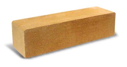 Кипич облицовочный узкий ЖЕЛТЫЙ(гладкий, колотый)Литос; 250х60х65,672 в пачке