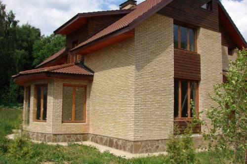Кирпич для заборов и коттеджей пр-ва СКЗ (нашим кирпичом облицованы дома в элитном коттеджном городке Хорошово).
