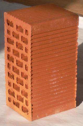 Кирпич двойной керамический, пустотелый М125. Доставка, разгрузка манипулятором.