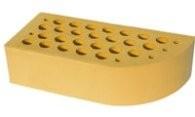 Кирпич лицевой , керамический , одинарный , пустотелый , 250х120х65 , М - 200 , F -100. Цвет желтый . г. Белая Церковь.