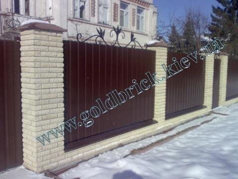 Кирпич Литос с доставкой в Киев и область