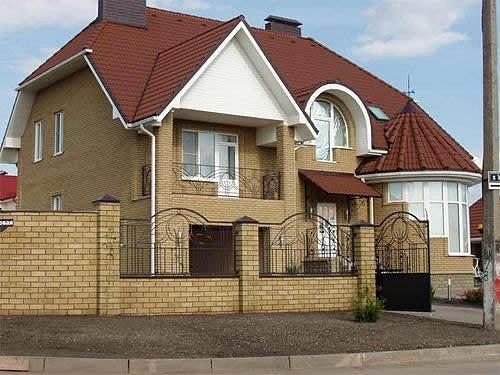 Кирпич облицовочный для фасадов и строительства заборов М200, домов