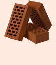 Кирпич облицовочный  Евротон коричневый М150-М300