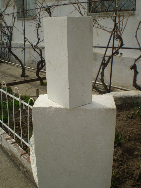 Кирпич пиленный из натурального камня, белый