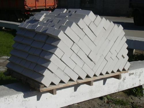 Кирпич силикатный одинарный 250х120х65
