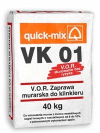 Кладочные растворы ТМ Quick-mix