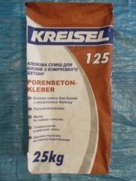 Кладочный раствор KREISEL MURLEP 125
