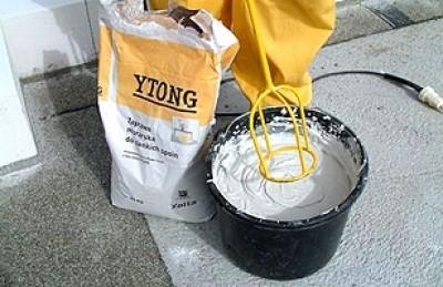 Кладочний розчин для газоблоку YTONG - мішок 25 кг