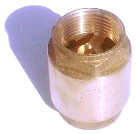 Клапан 1/2 пластмассовый шток