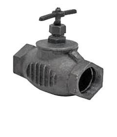 Клапан чугунный (прямой) 15кч33п Ду-65