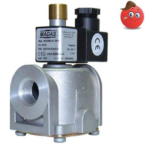 клапана электромагнитные газовые madas