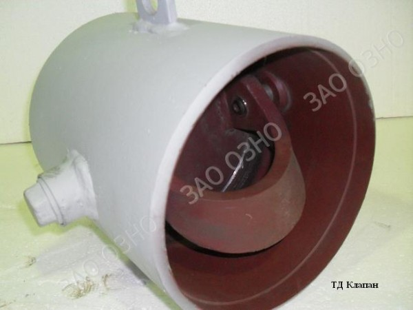 Клапан обратный поворотный 19с47нж Ду150 Ру40