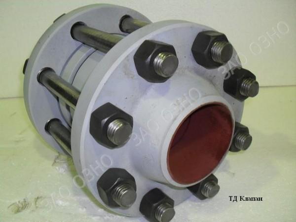 Клапан обратный поворотный 19с73нж Ду150 Ру40