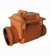 Клапан обратного хода ПВХ диаметры от 50 до 200 мм.