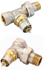 Клапан регулирующий RA-N 15 угловой/прямой, DANFOSS, D 15