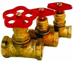 Клапаны(вентили) латуннные 15Б1п,15Б3р PN 1,0-1,6 МПа DN 15-50мм, Т-225 для воды, пара