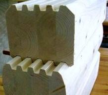 клееный профилированный брус, клееный брус до 24 м