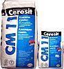 Клей Ceresit СМ-11 клеящая смесь для плитки