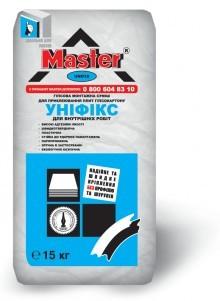 Клей для гипсокартона Master-Унификс (30кг)