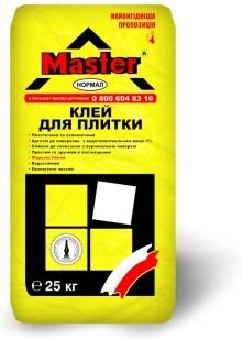 Клей для кафеля, плитки Мастер-Нормал (25кг)