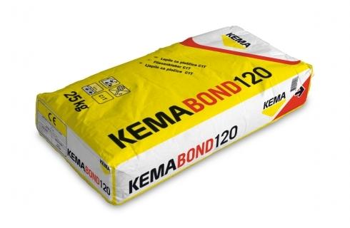 Клей для керамической плитки KEMABOND 120 Клей повышеной адгезии (усиленый).
