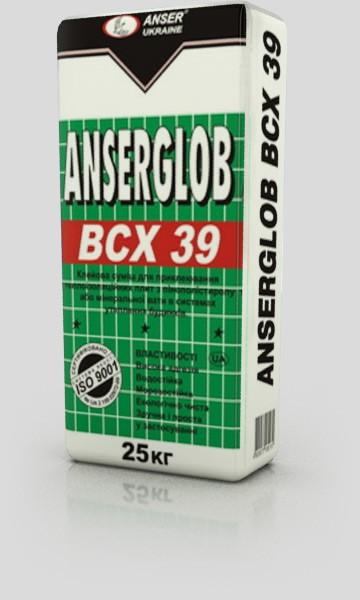 Клей для пенопласта. ТМ ANSERGLOB(Ансерглоб) ВСХ 39.