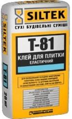 Клей для плитки эластичный Т-81, оптовые цены на сайте