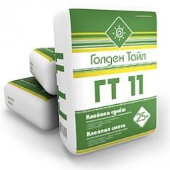 Клей для плитки ГТ-11 облицовка керамической плиткой, внутри зданий и сооружений в обычных условиях