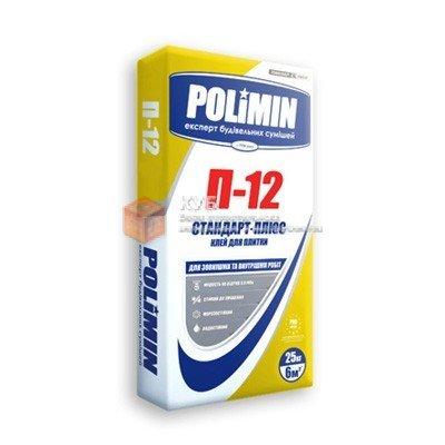 Фото  1 Клей для плитки Полимин П 12 (Polimin P 12) (25 кг) 1750121