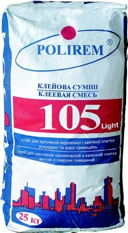 Клей для плитки Polirem 105