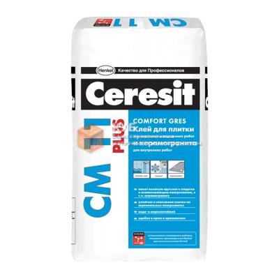 Клей для плитки Церезит СМ 11 Плюс (Ceresit CM 11 Plus) (25 кг)