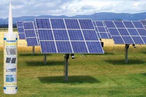 Клей герметик для солнечных батарей, стеклянных крыш