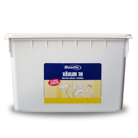Клей готовый «Bostik-70» (5 л) Клей для тканей и обоев Bostik 70 предназначен для использования в сухих помещениях.