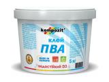 Фото  1 Клей Kompozit ПВА D3 5 кг 2038293