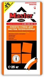 Клей Мастер Термол для приклеивания пенополистирола (25кг)