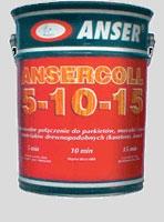 Клей паркетный Ansercoll 5-10-15-20, на базе каучуково—бутадионовых смол, канифоли и аптечного бензина, 23 кг в Броварах