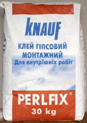 """Клей """"Perlfix"""" для монтажа гипсокартона , 30 кг"""