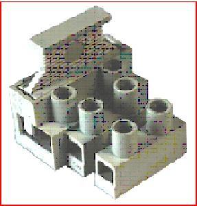 Клемма с предохранителем. используются в цепях, где существует потребность защиты по току