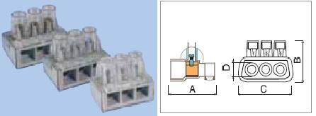 Клеммник разветвит. винтов. на 3 или 5 отв. Для соедин провод в бытовых условиях.