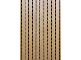 Фото  1 Акустические панели Decor Acoustic звукопоглощающая 2768 х320 х16.4мм с перфорацией под дерево клен 2082465