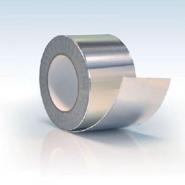 Самоклеющаяся лента алюминиевая армированная Alenor, 100мм