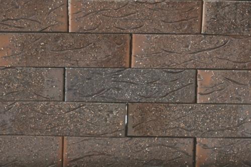 Клинкерам Рустика (кирпич разных цветов с вариациями рельефа) с торкретом (с присыпкой)