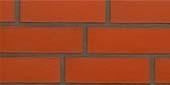 Клинкерный кирпич, красная серия, гладкий красный, пустотелый (240*150*71)