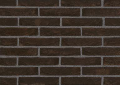 Клинкерный кирпич ручной формовки Nelissen Steenfabrieker(Бельг ия). Модель:Zwart Mangaan